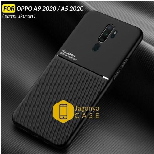 Foto Produk Case OPPO A9 2020 / A5 2020 Premium Case Magnetic IQS Design - Hitam dari Jagonya Case