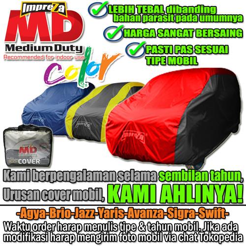 Foto Produk Cover Mobil Warna Agya Brio Jazz Yaris Avanza Calya - IMPREZA MD COLOR - 2 Hitam dari Cover Indo