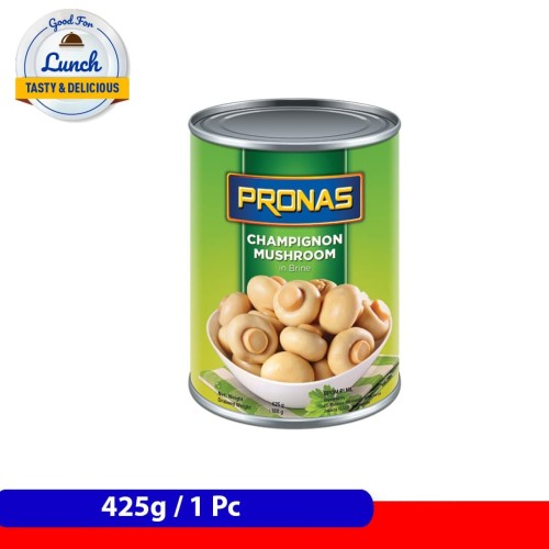 Foto Produk Pronas Jamur Kancing 400 g dengan kemasan kaleng EOE dari Pronas Official Store