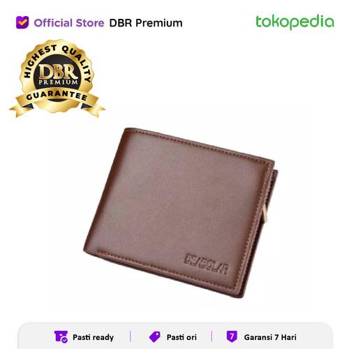 Foto Produk DOMPET PRIA LIPAT DEABOLAR 086 PU LEATHER DOMPET KULIT BERKUALITAS - Coklat horison dari DBR Premium