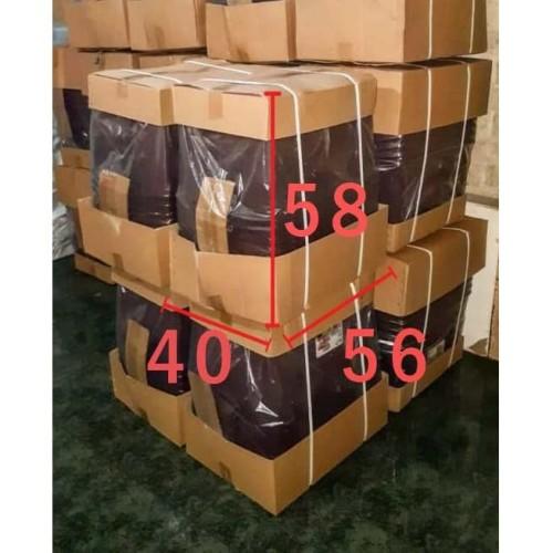Foto Produk SET ISI 6 Box Container Dgn Roda 50 Liter (Coklat) / Box Container 50L dari secretbasesby