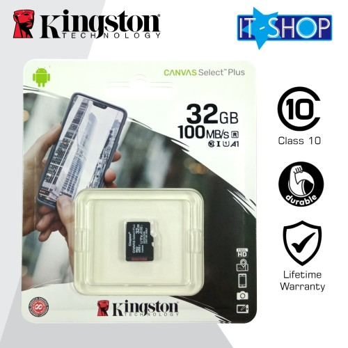 Foto Produk Kingston Micro SD Card Class-10 32GB dari IT-SHOP-ONLINE