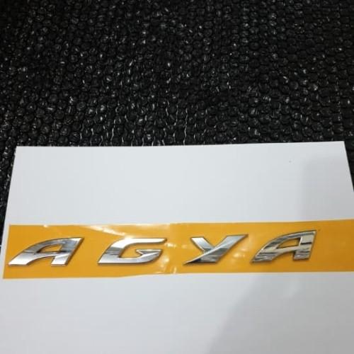 Foto Produk emblem kap mesin engine hood AGYA dari toko#dirumahaja