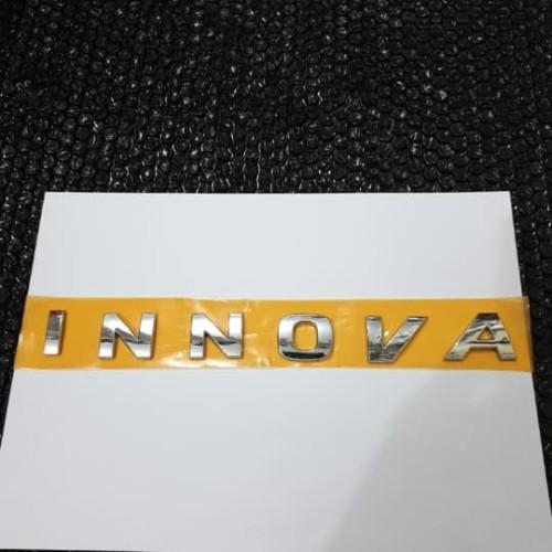 Foto Produk emblem kap mesin engine hood INNOVA dari toko#dirumahaja