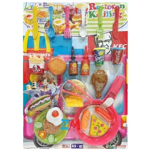 Foto Produk Mainan Anak Restoran Keliling KS72 - Masak Masakan dari motherkids