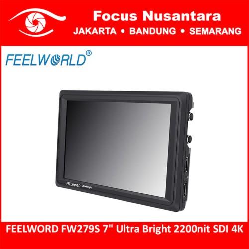 """Foto Produk FEELWORD FW279S 7"""" Ultra Bright 2200nit SDI 4K dari Focus Nusantara"""