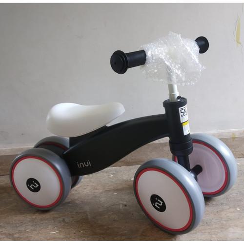 Foto Produk Inui balance mini bike ride KC 115 - mini bike anak - sepeda anak - Hitam dari Pusat Fit