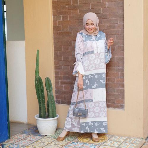 Foto Produk Khana Homey Dress Maxmara - Softpink dari FaVia Shop