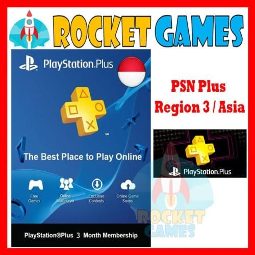 Foto Produk PSN 3 bulan Reg 3 dari Rocket games