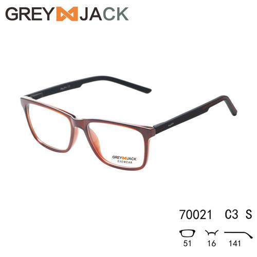 Foto Produk Grey Jack/Frame Kacamata game olahraga /TR90 Gel silika/pria 70021 - Cokelat dari Grey Jack