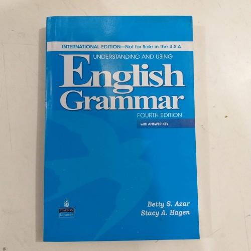 Foto Produk UNDERSTANDING AND USING ENGLISH GRAMMAR FOURTH EDITION BETTY S. AZAR dari TokoBukuAulia