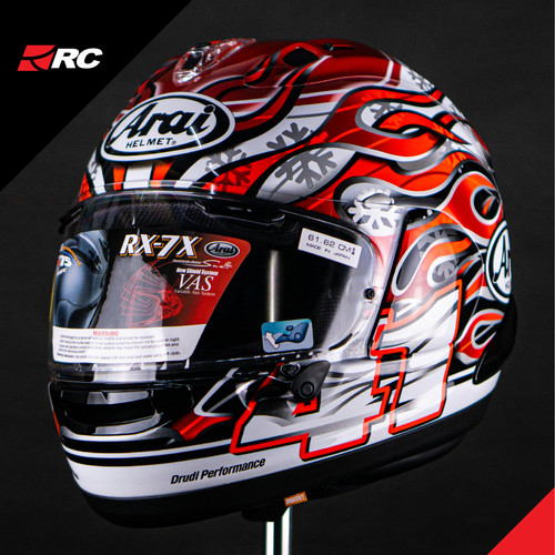 Foto Produk Arai RX7X Haga GP dari RC Motogarage Serpong