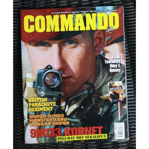 Foto Produk Majalah Commando No. 4 Tahun 2015 dari Airspace Review