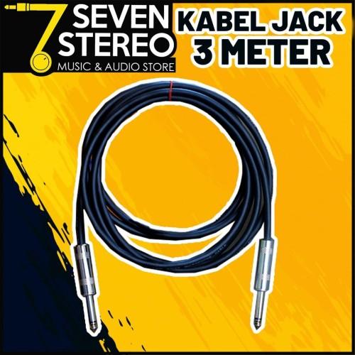 Foto Produk Cable Instrument Gitar - Bass - Keyboard kabel jack dari SEVEN STEREO