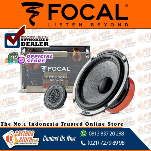 "Foto Produk Focal 165-W-XP 6.5"" 2-Way Passive by Cartens Audio dari Cartens Store"