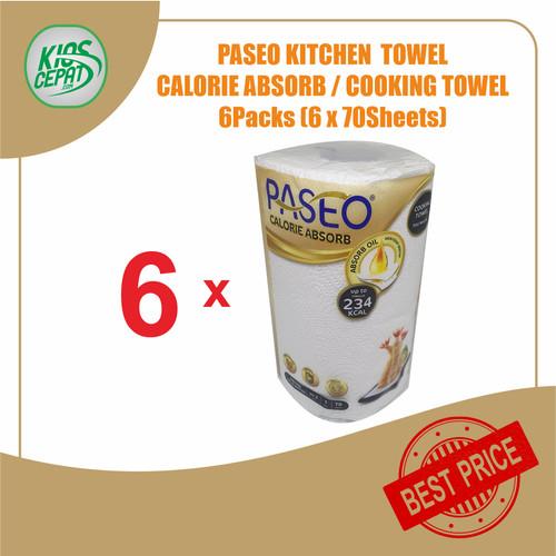 Foto Produk [SUPER BUNDLING] Tissue PASEO Calorie Absorb (TISU MASAK) isi 6 Rolls dari KiosCepat