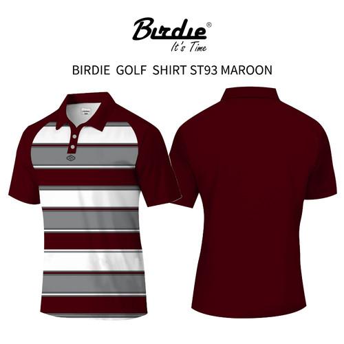 Foto Produk BIRDIE - Polo Golf Shirt ST93 Staylish - Maroon, S dari Birdie Indonesia