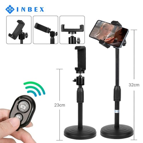 Foto Produk INBEX Phone Holder+Bluetooth Remote/360° Rotating Tongsis dari INBEX Official Store