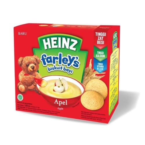 Foto Produk Heinz Farley's Baby Biscuit (6m+) 120gr / Biskuit Bayi - original dari Yen's Baby & Kid Official Shop