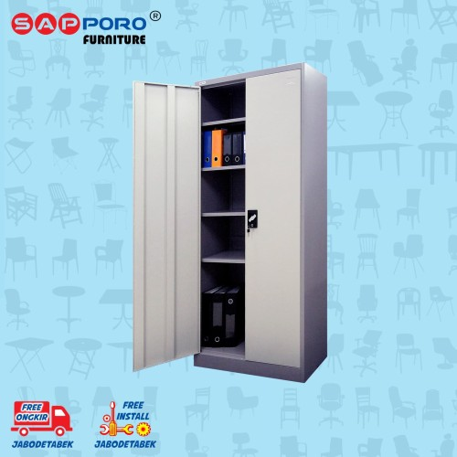 Foto Produk Filing Cabinet / Lemari Arsip Besi SAPPORO HALLE - Platinum Alpha dari Sapporo Furniture Online