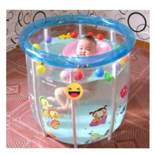 Foto Produk KOLAM SPA BABY FLOW FULL TRANSPARAN dari ANEKA MAINAN ONLINE