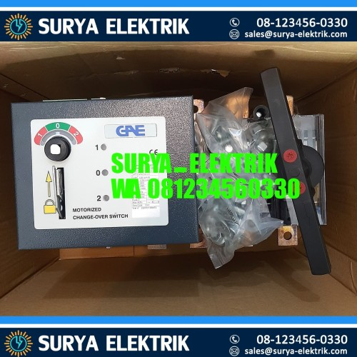 Foto Produk COS OHM SAKLAR MOTOR MOTORISED GAE 800A 800 A Amper Motorized COS GAE dari SURYA-ELEKTRIK