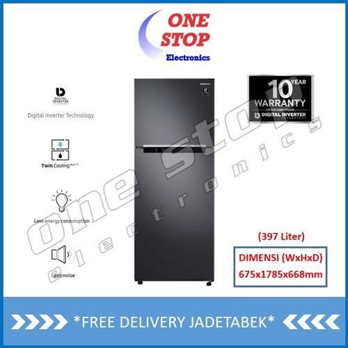 Foto Produk SAMSUNG RT38K5030B1 Kulkas 2 Pintu Twin Cooling Plus™ 397L dari OneStop Electronics