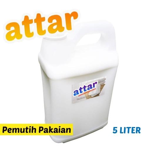 Foto Produk Pemutih Pakaian ATTAR / Bleach Laundry 5 Liter dari Tasneem