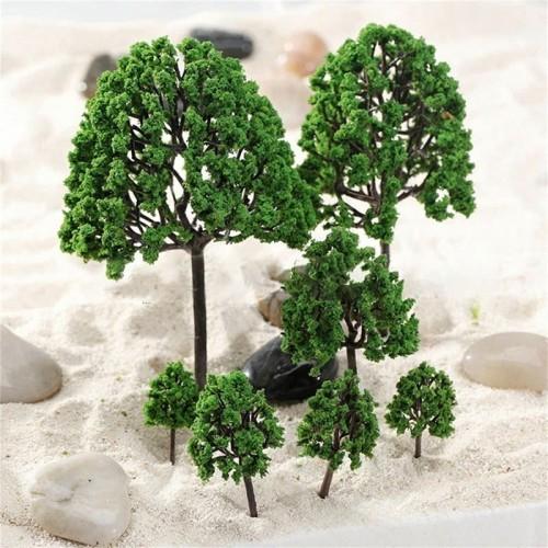 Foto Produk Tanaman Miniatur Untuk Maket Terrarium Aquascape Diorama - MNB40 - Tinggi 3cm dari Chrysomallus Store