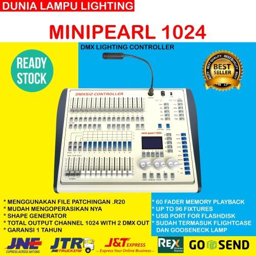 Foto Produk Minipearl 1024 Mini pearl 1024 DMX Lighting Controller incl Flightcase dari DUNIA LAMPU LIGHTING