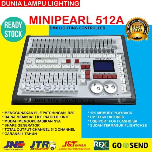Foto Produk HARGA MURAH mixer Lampu parled minipearl 512A dmx lighting controller dari DUNIA LAMPU LIGHTING
