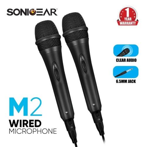 Foto Produk Sonicgear Microphone M2 - 2Pcs dari Sonicgear Official Store