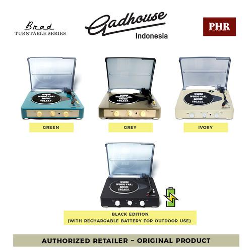 Foto Produk GADHOUSE Brad - Vinyl Turntable Player (Pemutar Piringan Hitam) PROMO - Random dari PHR Senayan