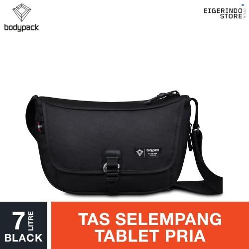 Foto Produk Bodypack Prodigers Curva Tablet Shoulder Bag - Black 7L dari Eigerindo Store