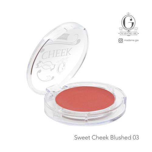Foto Produk Madame Gie Sweet Cheek Blushed - Blush On - Cheek Tiga dari Madame Gie Official