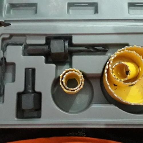 Foto Produk MATA BOR LUBANG KABEL BOX SET 60mm WINSTON / MATA BOR GROMET 6 CM dari WINSTON SUKSES ABADI