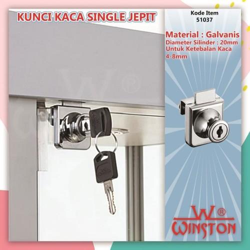 Foto Produk KUNCI KACA JEPIT SINGLE WINSTON dari WINSTON-OK OFFICIAL STORE