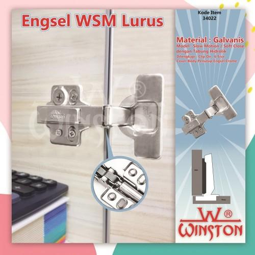 Foto Produk ENGSEL SENDOK LURUS SLOW MOTION WINSTON WSM109 dari WINSTON-OK OFFICIAL STORE
