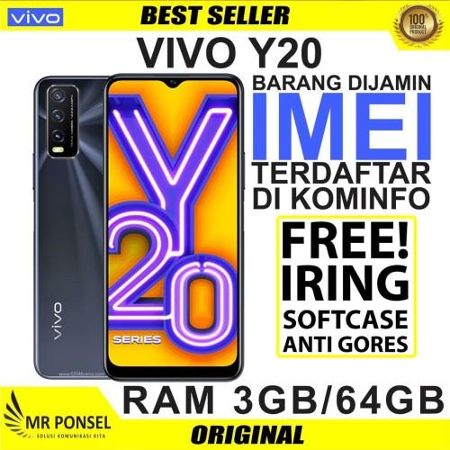 Foto Produk hp vivo y20 3 64 gb Garansi VIVO Indonesia dari Mr-Ponsel