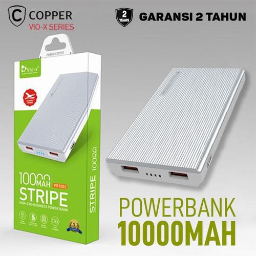 Foto Produk COPPER POWERBANK 10000 MAH - PR1002 Series - Putih dari Copper Indonesia