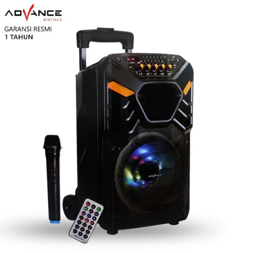 Foto Produk Speaker Bluetooth Advance K881 Speaker PA Hi Fi Portable dari AKA Official
