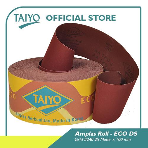 Foto Produk Taiyo ECO-DS Amplas Roll Kain #40-240 25Meter - 240 dari Taiyo Perkakas Official