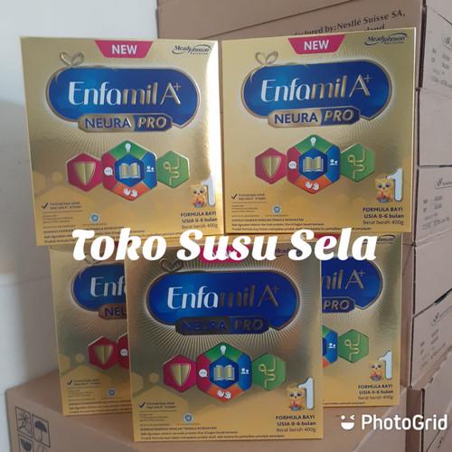 Foto Produk ENFAMIL A+1 KEMASAN 400GRAM dari TOKO SUSU SELA