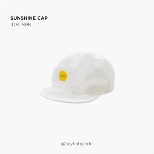 Foto Produk Hey Baby Sunshine Cap Topi Anak Bayi - 1-6m dari Hey! Baby