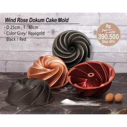Foto Produk PERO WIND ROSE DOKUM CAKE MOLD GREY dari Pero Indonesia
