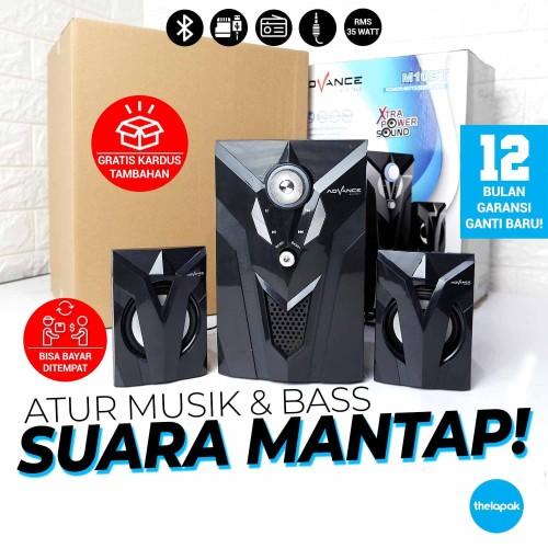 Foto Produk Speaker Aktif Bluetooth Advance M10BT 2.1 35Watt MP3 FM Radio USB Play dari Thelapak