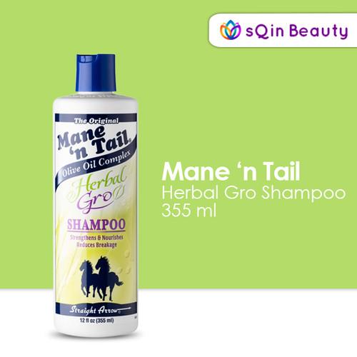 Foto Produk Mane N Tail Herbal Growth Shampoo 355ml - Shampo Rambut - Shampo Kuda dari SQIN Beauty
