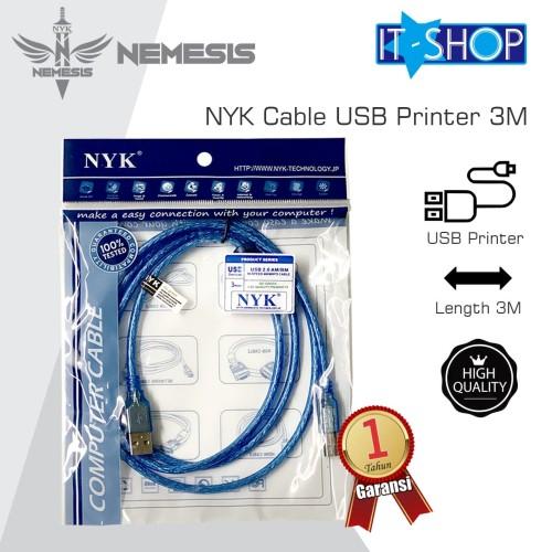 Foto Produk NYK Cable USB Printer 3M dari IT-SHOP-ONLINE