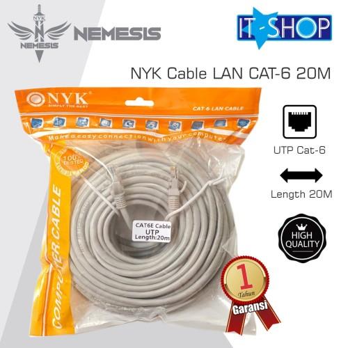 Foto Produk NYK Cable LAN CAT-6 20M dari IT-SHOP-ONLINE