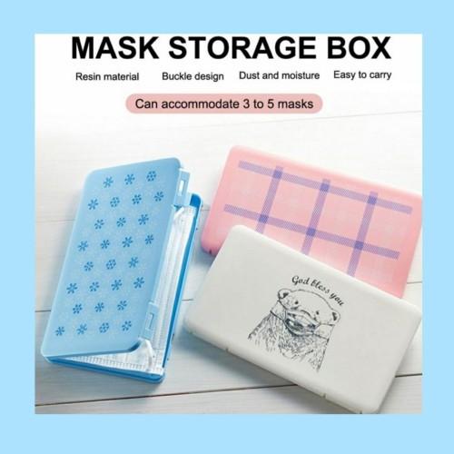 Foto Produk ready tempat masker/mask case/kotak masker - Putih dari Toko Kita MM